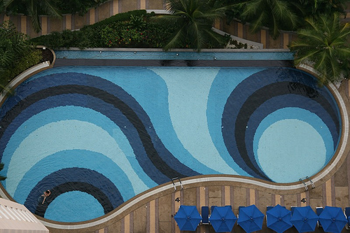 Pools With Different Color