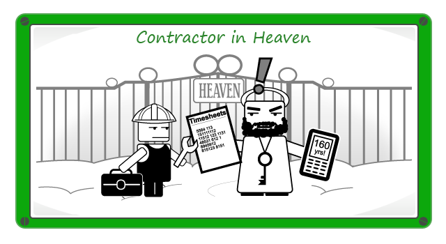 Image result for contractor in heaven