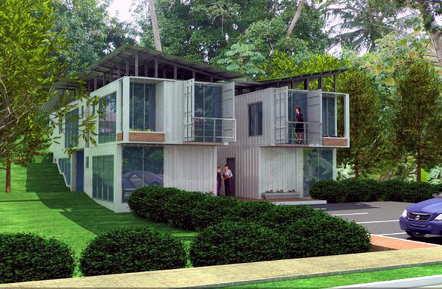 8 radical recycled shipping container homes visual remodeling blog fixr - Container home blog ...