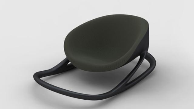 Floor rocking chair minimalist rocking chair by