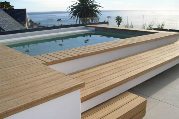 Decking Materials Swimming Pool Decking Materials