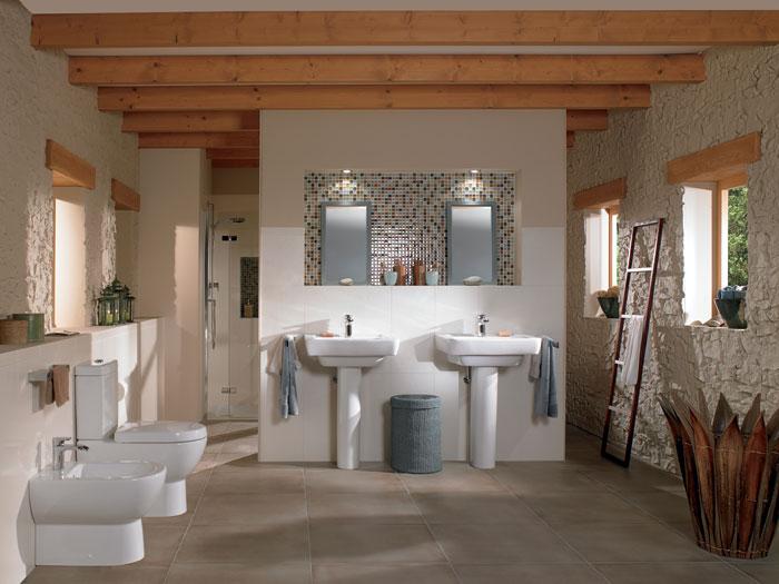 Ideen neue bäder ideen : Badezimmer Dekorieren Ideen Und Design Bilder: Badezimmermobel mit ...